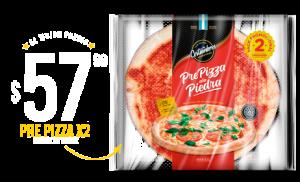 Pre Pizza Gde. de Tomate $57.99 x 2 unidades